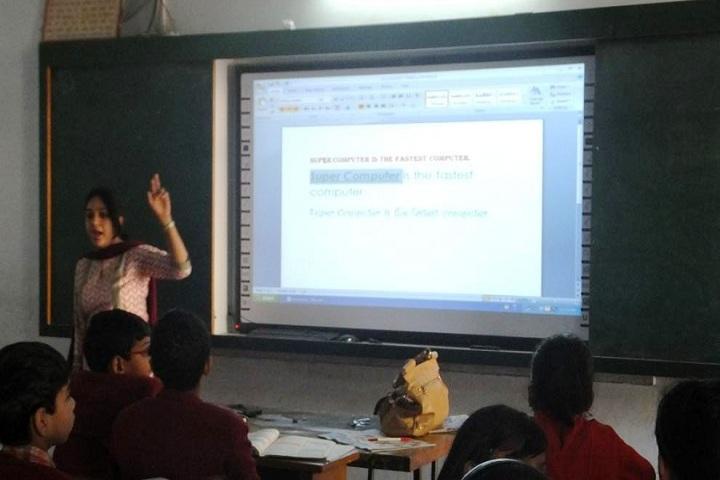 D A V Public School-Smart Classrooms