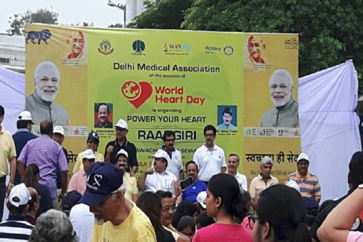 D A V Public School-World Health Day