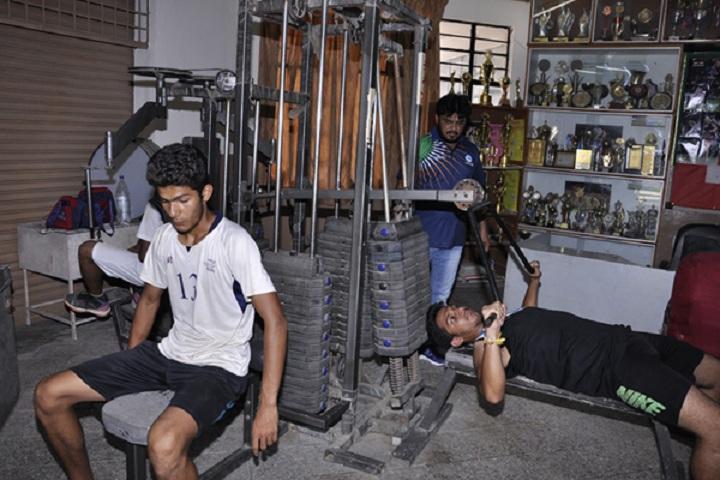 D A V Public School-Gym
