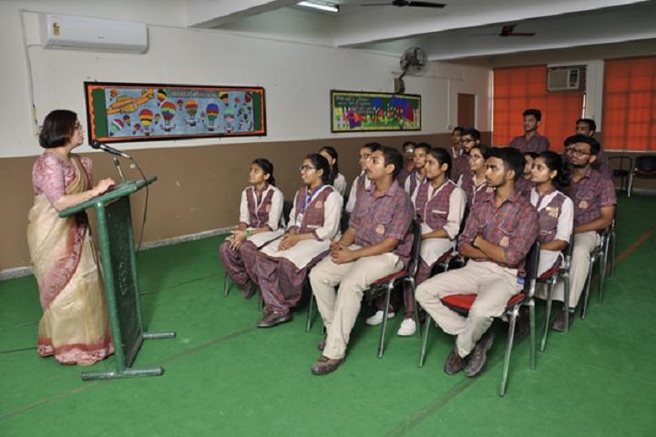 D A V Public School-Seminar hall