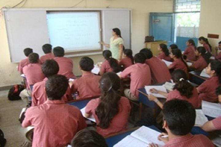 Shaheed Rajpal D A V Public School-Class