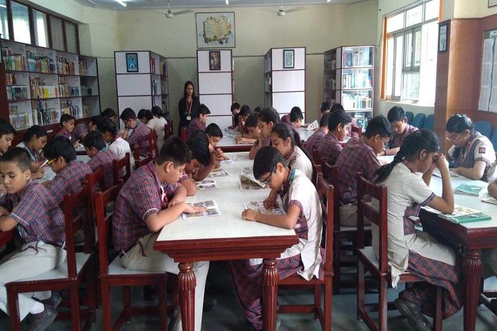 Shaheed Rajpal D A V Public School-Library