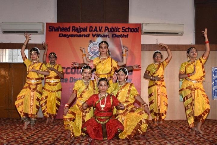 Shaheed Rajpal D A V Public School-Dance