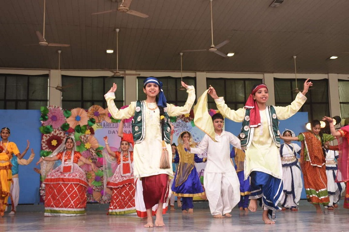 Shaheed Rajpal D A V Public School-Dancing