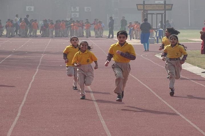 Shaheed Rajpal D A V Public School-Games