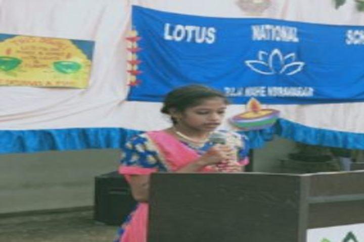 Lotus International School-Speech