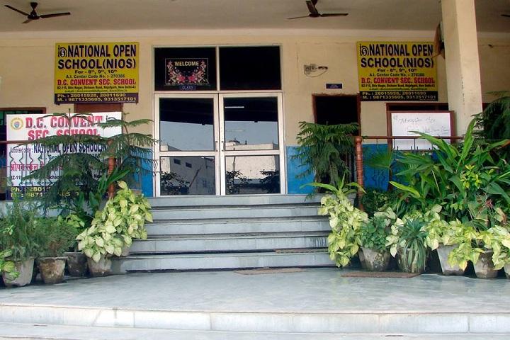 D C Convent School-Campus
