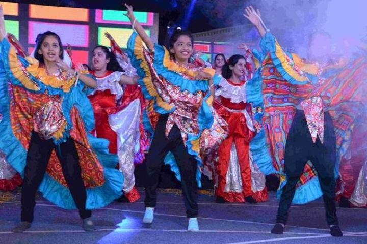 D S Memorial Public Senior Secondary School- Dance 1