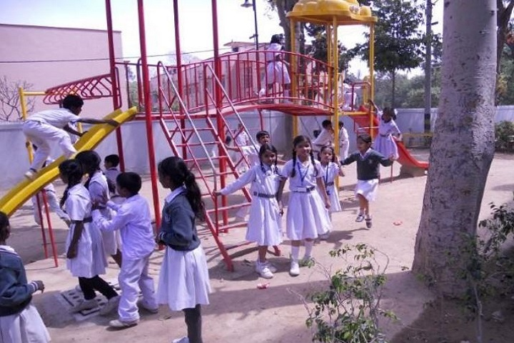 D T E A Senior Secondary school-Primary Section Play Ground