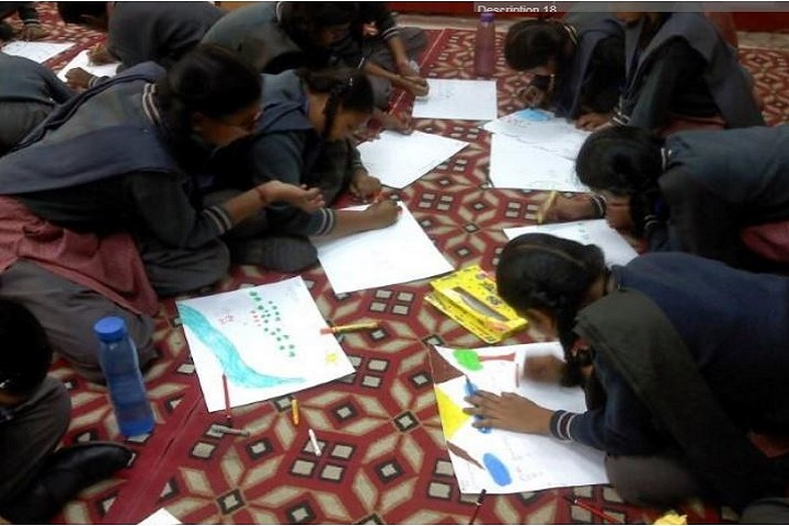 D T E A Senior Secondary School-Drawing Competition