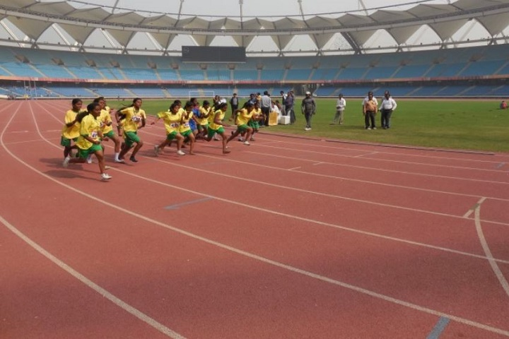 D T E A Senior Secondary School-Running competition