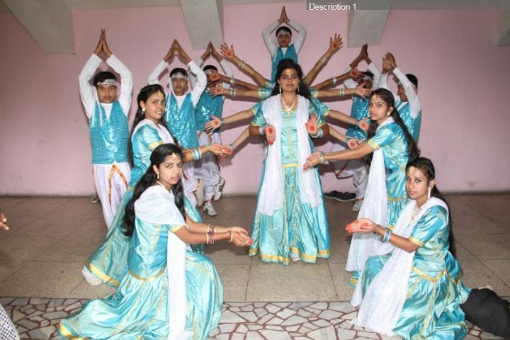 D T E A Senior Secondary School-Group Dance Performance