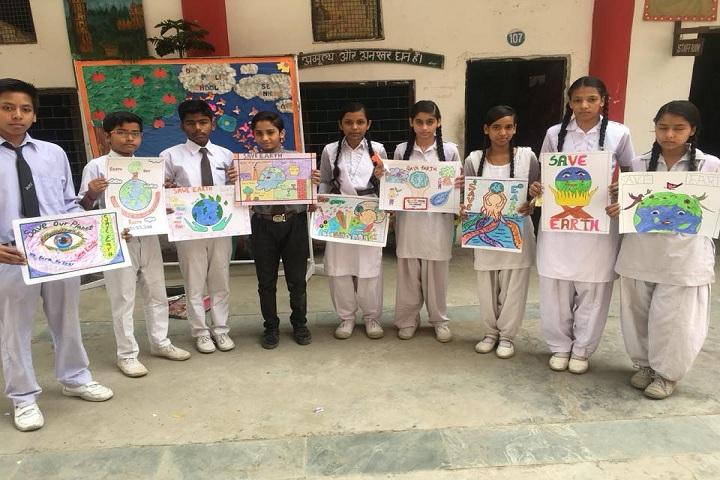 D V Public School-Arts Class
