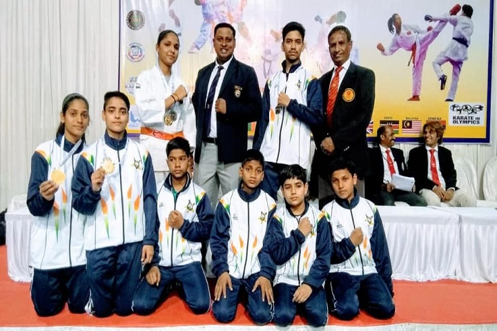 D V Public School-Karate
