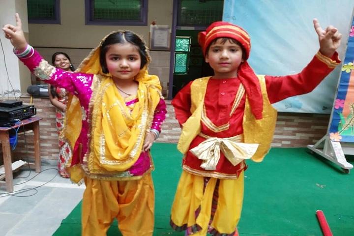 M L Khanna DAV Public School-Baisakhi Celebration