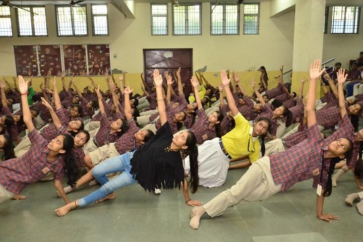 DAV Public School-Dance room