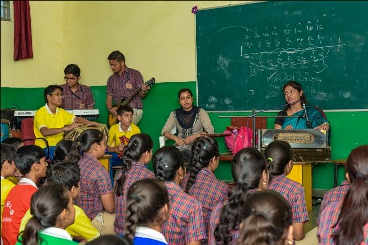DAV Public School-Music Room