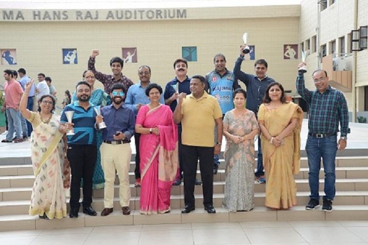 Darbari Lal DAV Model Senior Secondary School-Felicitation ceremony