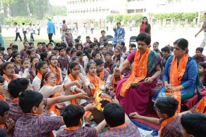 Darbari Lal DAV Model Senior Secondary School-Foundation day
