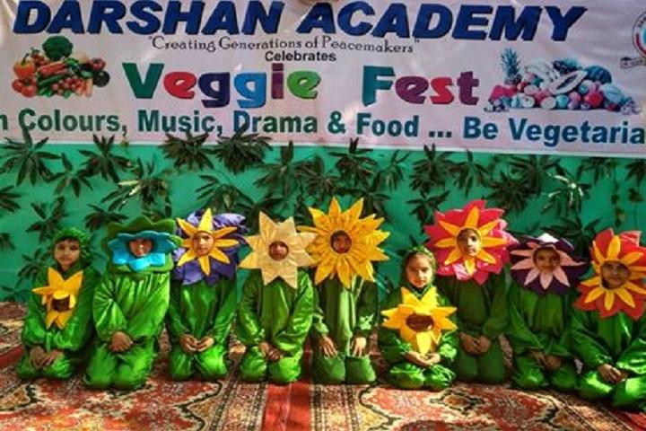 Darshan Academy-Veggie fest
