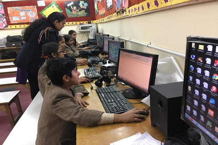 Dashmesh Public School-Computer Lab