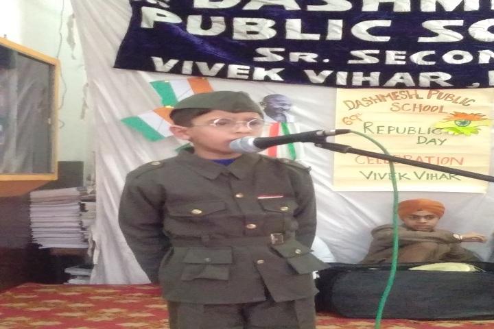 Dashmesh Public School-Republic Day Celebrations