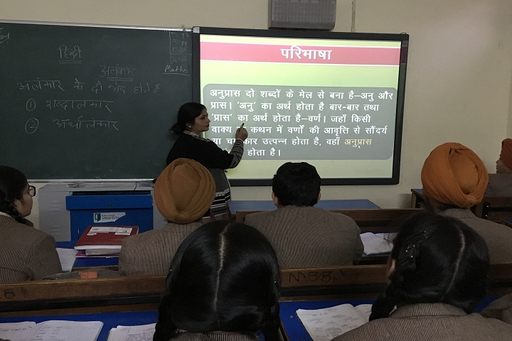 Dashmesh Public School-Smart Classroom