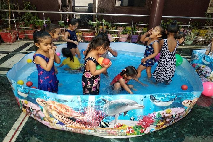 Dashmesh Public School-Swimming Pool Activity