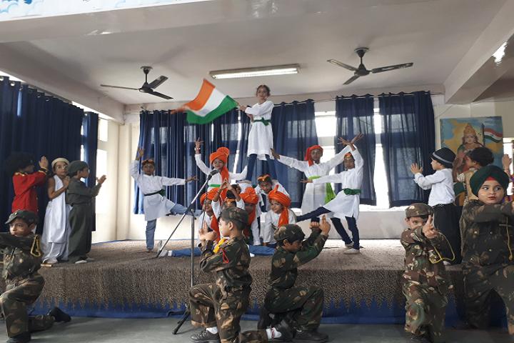 Dav Model School-Independence Day