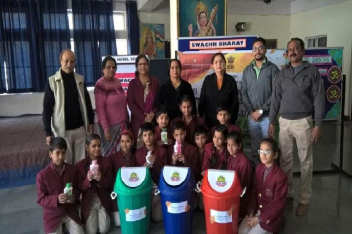 Dav Model School-Swacth Bharat Program
