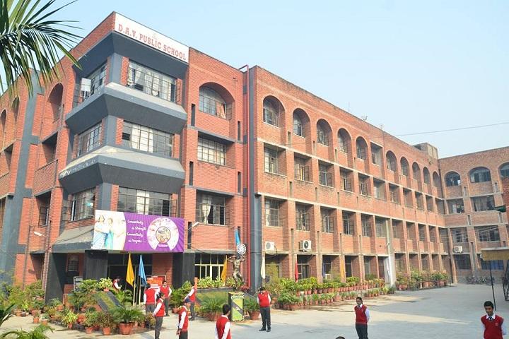 DAV Ashok Vihar-building
