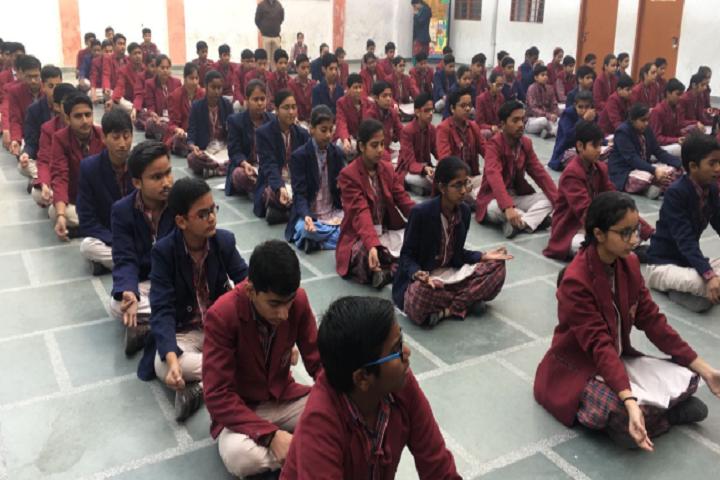 Dav Public School-assembly area