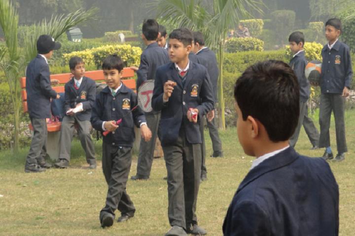 Dav Public School-garden