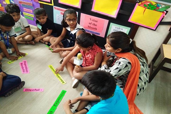 De Indian Public School-Kids Play Area