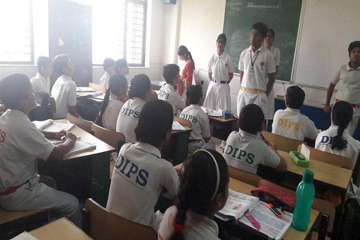 De Indian Public School-Classroom