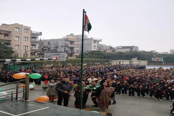 De Indian Public School-Republic Day