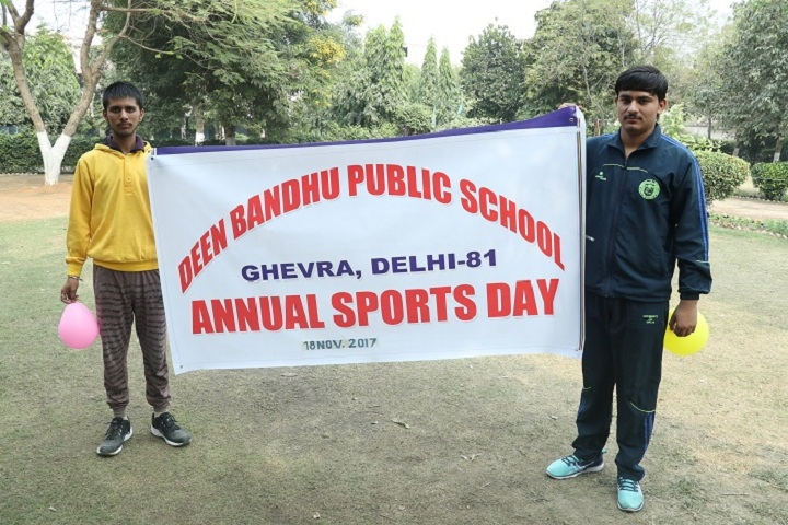 Deen Bandhu Public School- Sports Day