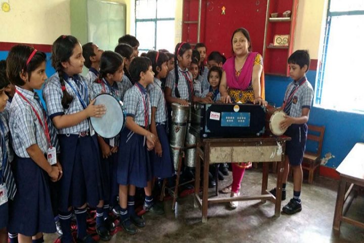 Delhi English Academy-Music room