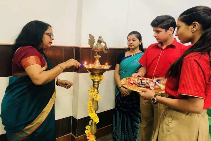 Delhi Heritage School-orientation day