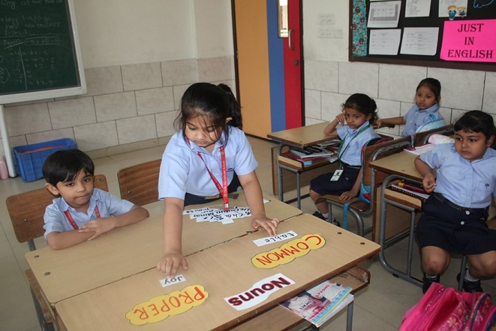 Delhi International School-English Week Activity