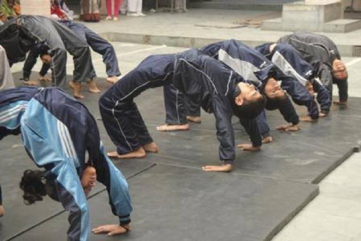 Delhi Jain Public School- Yoga