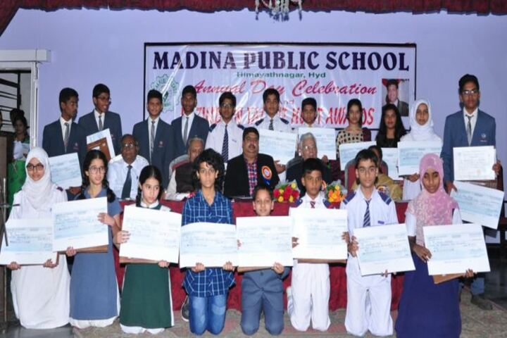Madina Public School-Awards