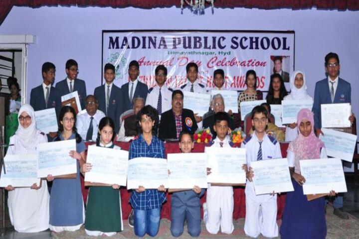 Madina Public School-Awards