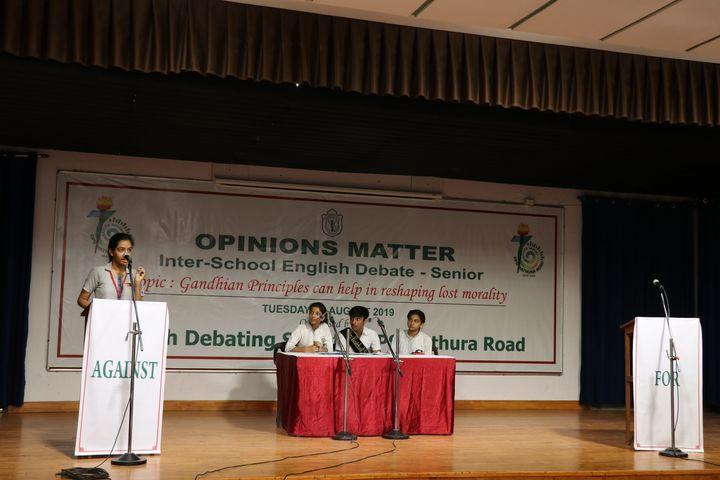 Delhi Public School-Debate