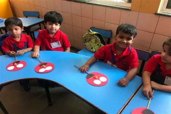 Delhi Public School-Color Day