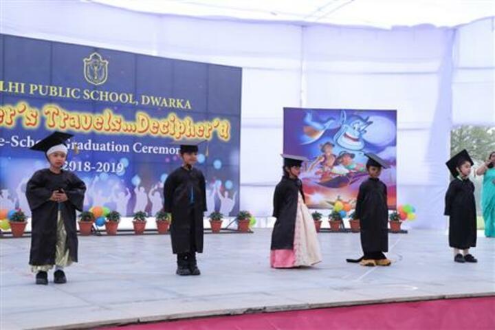 Delhi Public School-Graduation Ceremony