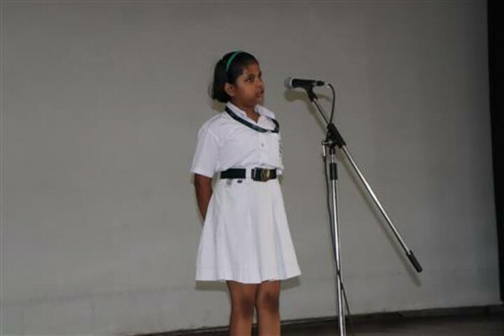 Delhi Public School-Reciation