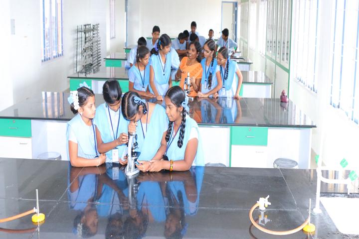 Mangal Vidyalayam-Biology Lab