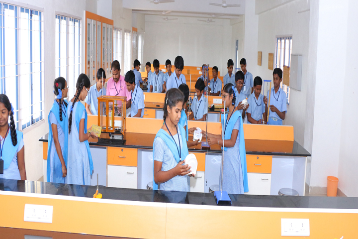 Mangal Vidyalayam-Chemistry Lab