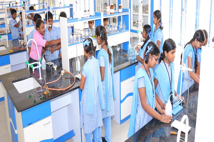 Mangal Vidyalayam-Physics Lab
